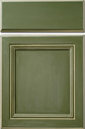 Maple Moss Monarch Door