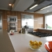 Walnut Kitchen from Island Photo